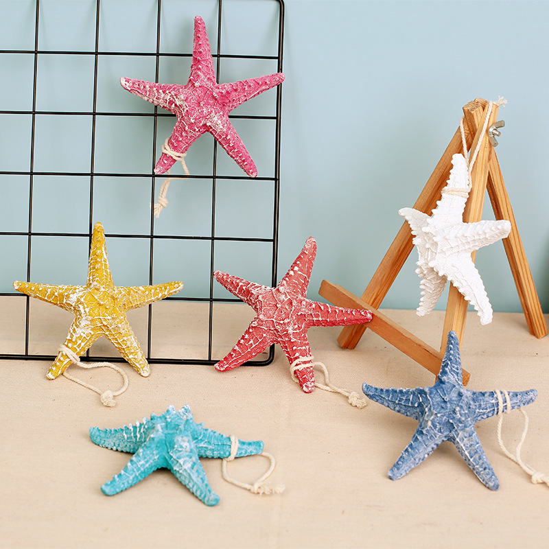 Ornament, Starfish, Nautical, Colorful, Crafts, Wall