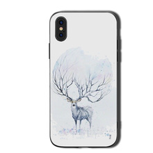 Deer  Phone Cases Cover for iphone X XR XS MAX 6 6s 7 8 Plus TPU Coque For 8Plus 5SE