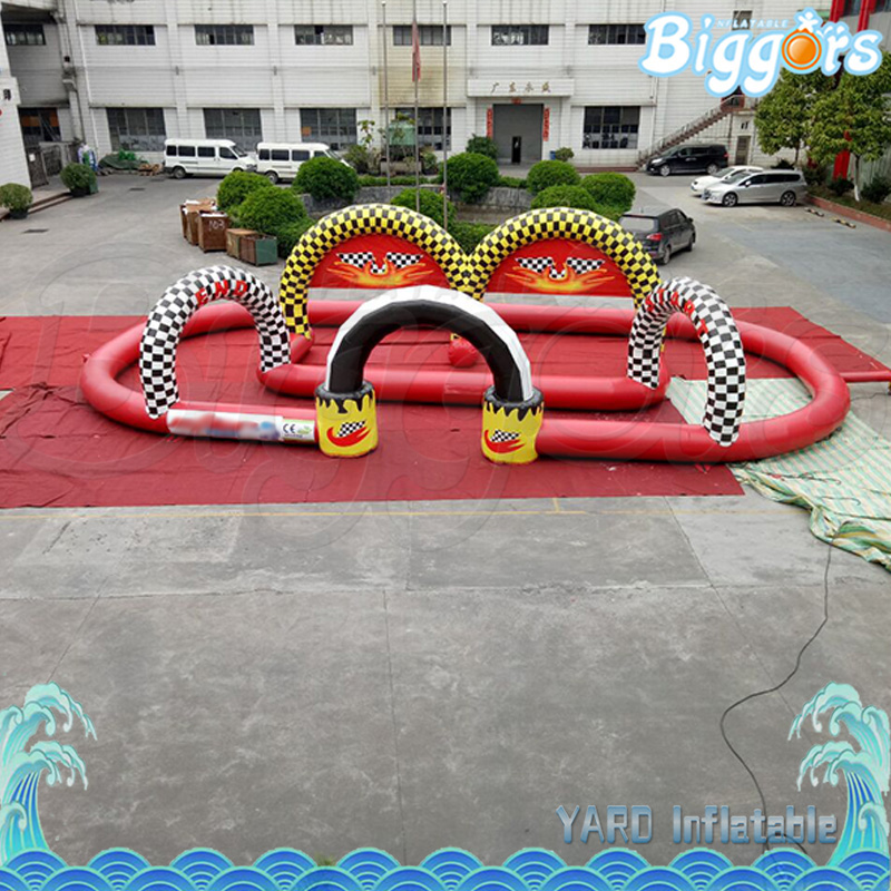 Largest Indoor Go Karting Track Air Tube Kating Track Inflatable Kating Tracks free shipping 10 2m inflatable air track inflatable air track inflatable gym mat trampoline inflatable gym mat