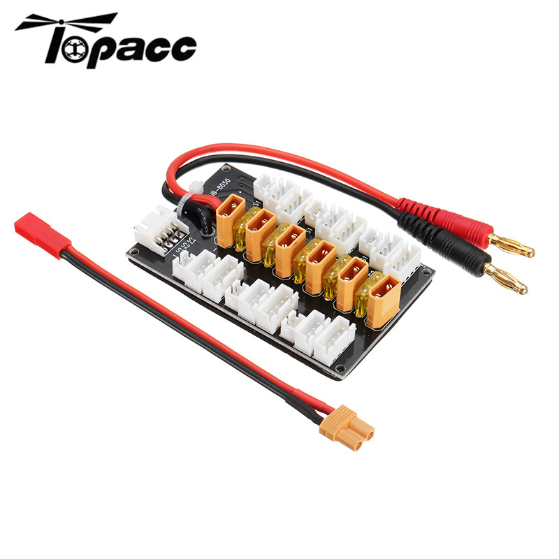 1S-3S XT30 Plug Parallel Charging Board Para Board For B6 Battery Charger RC Multicopter Lipo Battery Spare Part DIY Accessories