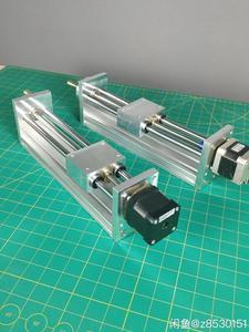 Image 1 - NEMA17/23 מנוע צעד CNC ציר Z שקופיות עבור Reprap 3D מדפסת CNC חלקי 170/270mm נסיעות CNC נתב לינארי תנועה מפעיל