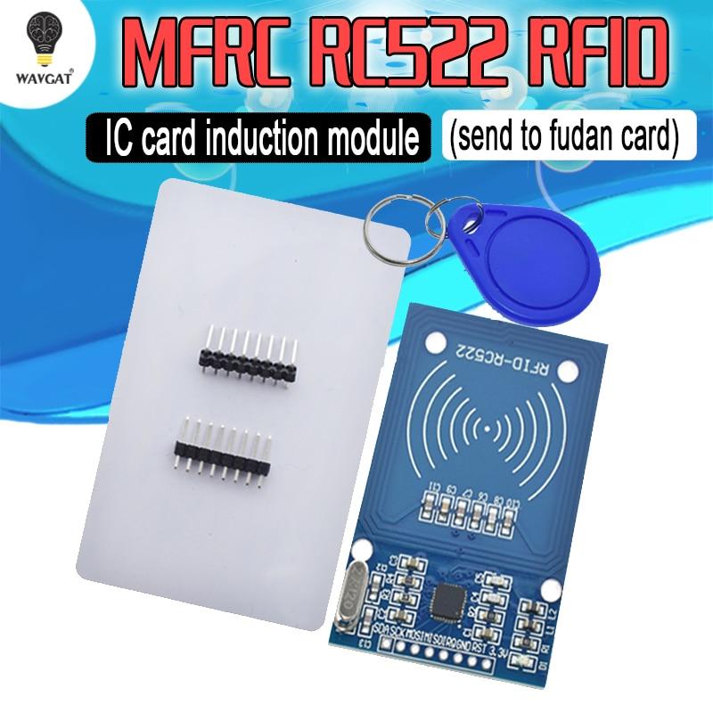 Livraison gratuite module RFID RC522 Kits S50 13.56 Mhz 6 cm avec étiquettes SPI écrire et lire pour arduino uno 2560