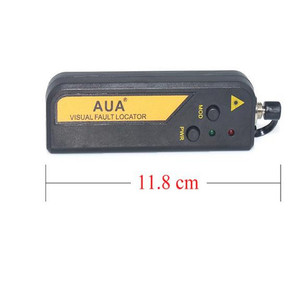 Image 3 - Free shipping AUA Mini 10mw Fiber Optic Laser Visual Fault Locator, Fiber Optic Cable Tester 10KM