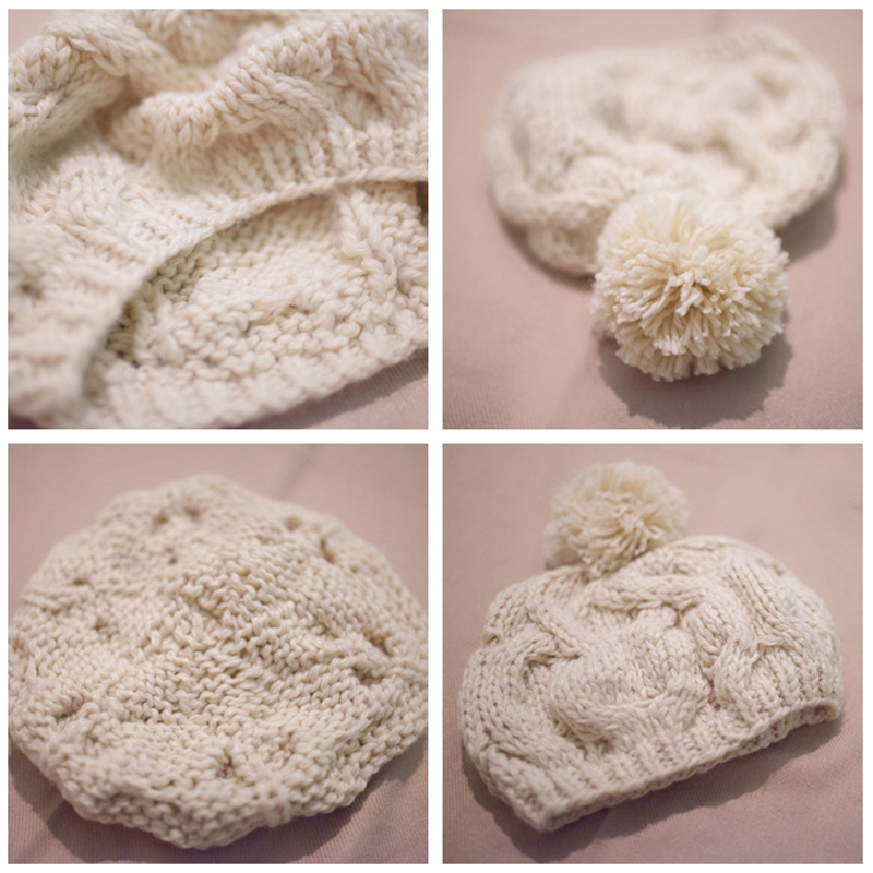 570c4ad673c WISH CLUB Fashion Winter Hat Skullies Beanies Warm Knitted Women s Hat Pom  Pom Hat For Girl