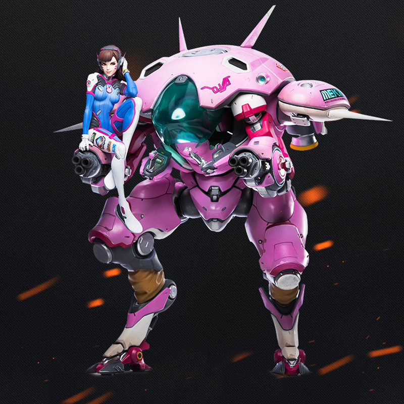 Game OW DVA Mecha D.VA Action Figure Model 23cm Big Robot Toys цена 2017