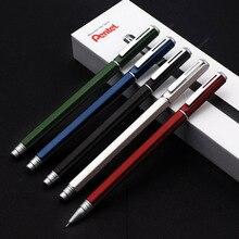 1pcs Penter Gel Pen BLN665 Metal Quick drying Waterproof Needle Tube Pen 0.5mm Business Signature Office Low Gravity 0.5mm