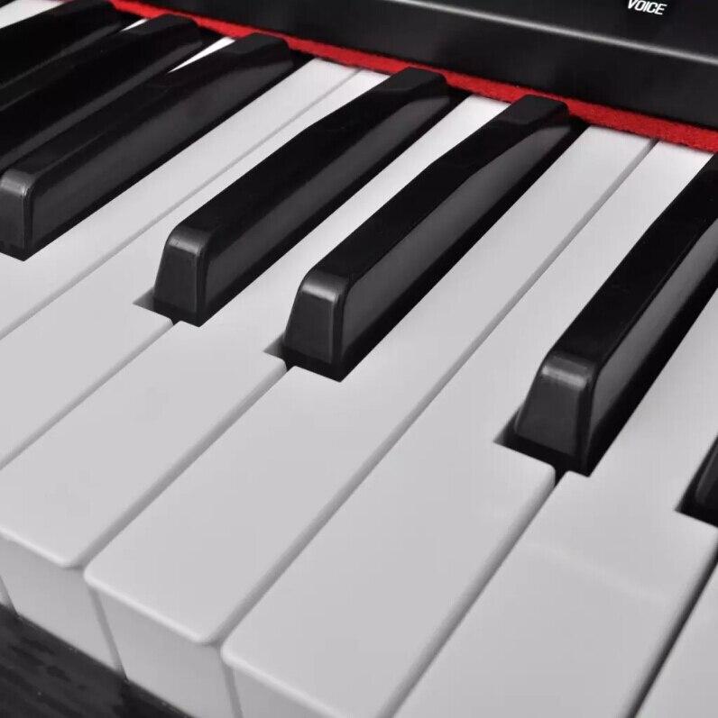 Vibraxl Piano eléctrico Digital Piano eléctrico con 88 teclas juguete de descanso Musical instrumento Musical con función de almacenamiento de grabación regalo - 4