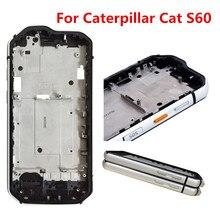 Nuevo para Caterpillar Cat S60 teléfono B carcasa frontal superficie reemplazar carcasas marco 4,7 pulgadas impermeable a prueba de golpes parachoques al aire libre