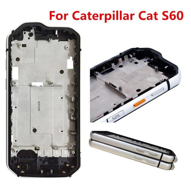 Nuovo Per Caterpillar Cat S60 Telefono B Anteriore Borsette Superficie Sostituire Custodie Cornice da 4.7 pollici Impermeabile Antiurto per Esterni Paraurti