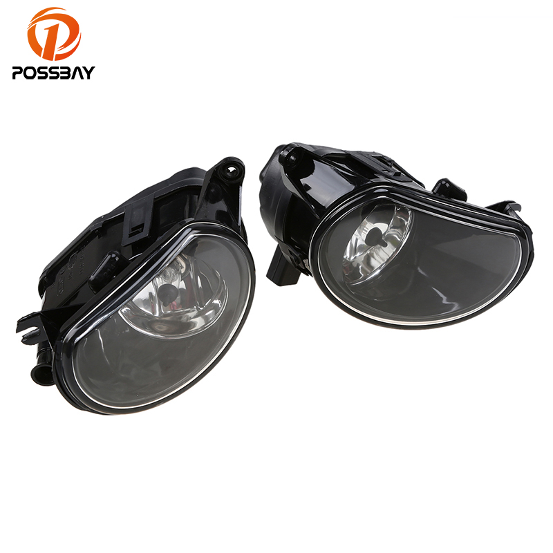 POSSABY Front Fog Lights Assembly Lower Bumper External Light for Audi A3(Typ 8P) A3/S3/Sportback/Quattro 2004-2008 Car-styling 12pc x canbus led interior dome map light kit package for audi a3 s3 8p 2006 2013