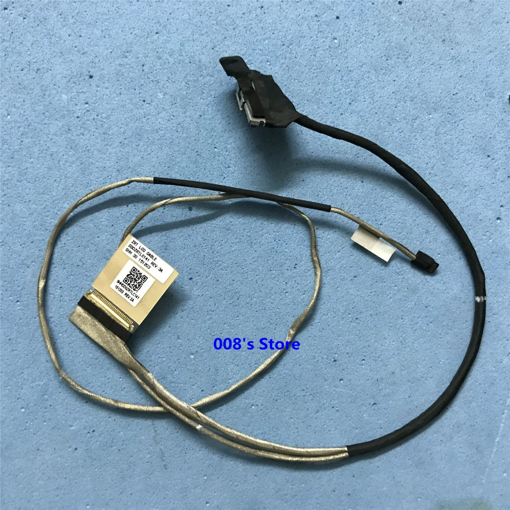 Original New LCD LVDS LED VIDEO DISPLAY SCREEN ZAA CABLE P//N DD0ZAALC011 REV:3A