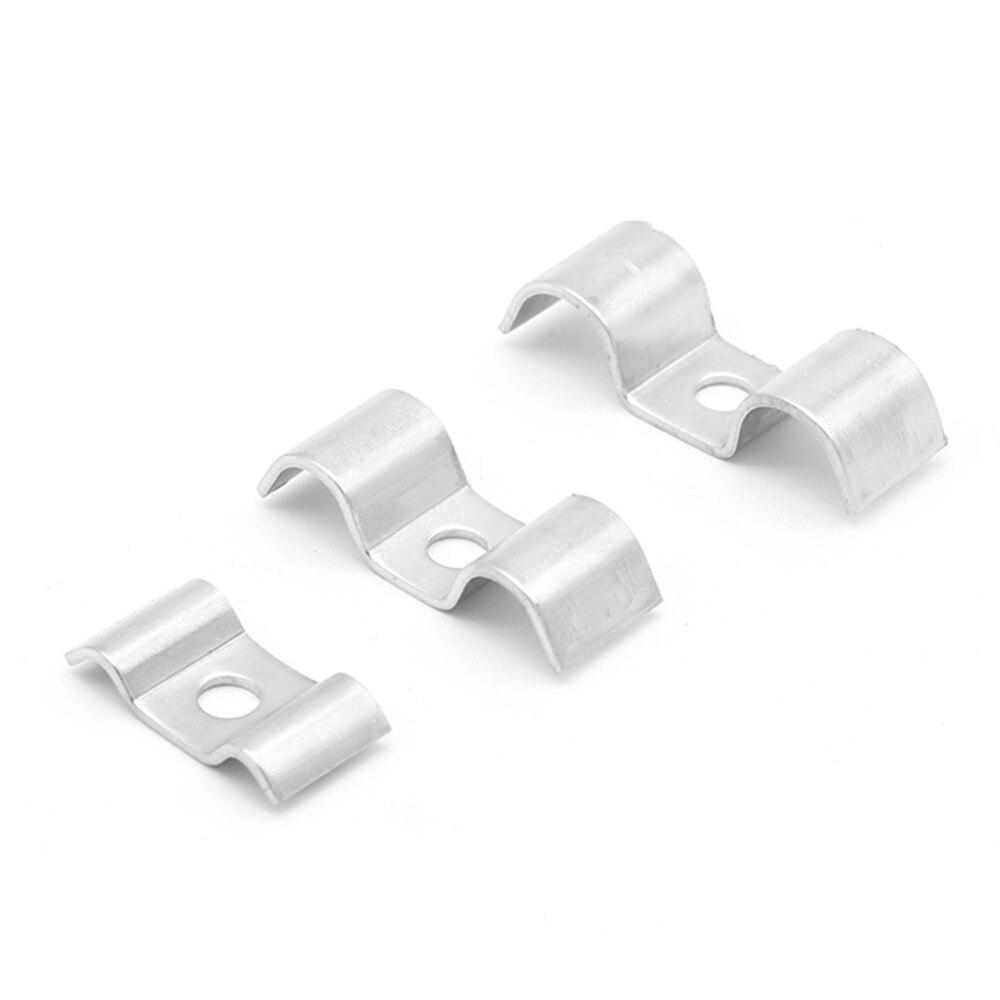 /23/mm//1//2/ Acero inoxidable Abrazadera de tubo de acero con base de goma 21/
