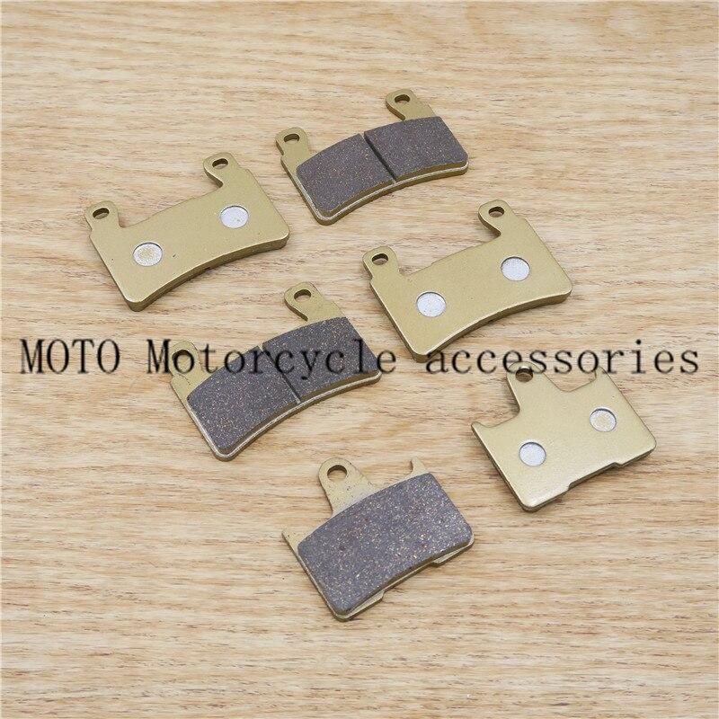 Мотоцикл Передние и задние Тормозные колодки для Honda cb400 системой VTEC Superfour 1999-2004 99 00 01 02 03 04