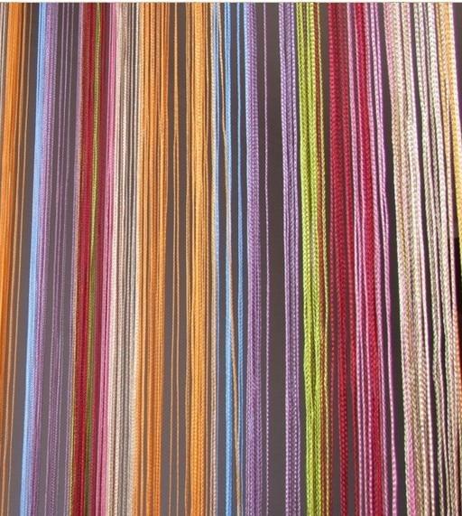 300 * 300 cm çizgi perde kapalı lüks dekor perde otel yatak odası - Ev Tekstili