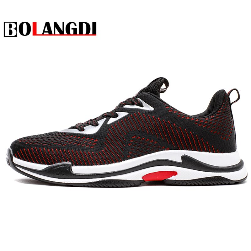 dBOLANGDI Men Running Shoes 2018 Spring Winter Outdoor Walking Shoes Breathable Mesh Trainers Men