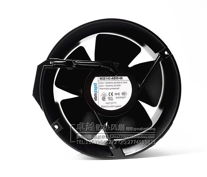 New original W2E143-AB09-06 230V 24 / 30W high temperature fan