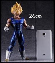 Anime Style Super Saiyan 2 Vegeta Model (25CM)