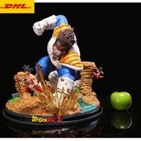 19 Statue Dragon Ball Bust Super Saiyan Full Length Portrait Vegeta Son Goku GK Action Figure Collectible Model Toy BOX Z1078
