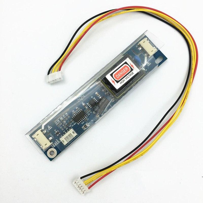 10pcs lot AVT2028 big port Universal 2 lamp CCFL Backlight Inverter board Input Voltage 10 28V