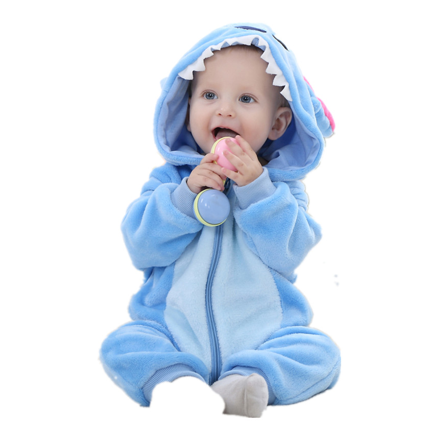 fe406b527 ... cartoon jumpsuit warm autumn winter animal for boy snowsuit. (KID  STATION) 70-100 cm baby girls boy rompers clothes new born baby