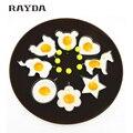 1 pc aço inoxidável shaper ovo ovo molde de cozimento ferramentas moldes panqueca coração anel flower cozinha gadget frete grátis