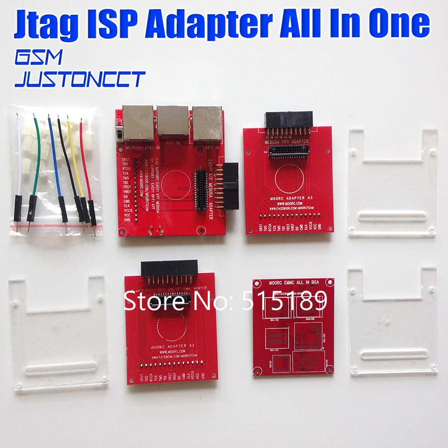 New version JTAG ISP Adapter ALL IN 1 For RIFF EASY JTAG EASY JTAG MEDUSA EMMC <font><b>E</b></font>-<font><b>MATE</b></font> <font><b>BOX</b></font> ATF <font><b>BOX</b></font> free shipping image