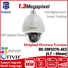 HIKVISION ip Camera PTZ English Version DS-2DF5276-AE3 original CMOS Cctv security 20X Optical Zoom tracking Hik ONVIF uk RJ45