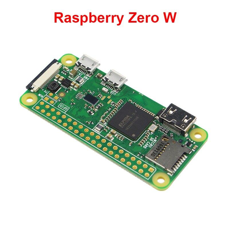 2018 Framboise Pi Zéro W Conseil 1 GHz CPU 512 MB RAM avec Built-In WIFI & Bluetooth RPI 0 W