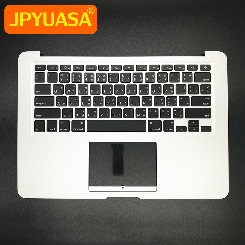 New TopCase with TH Thai Thailand Keyboard For MacBook Air 13.3