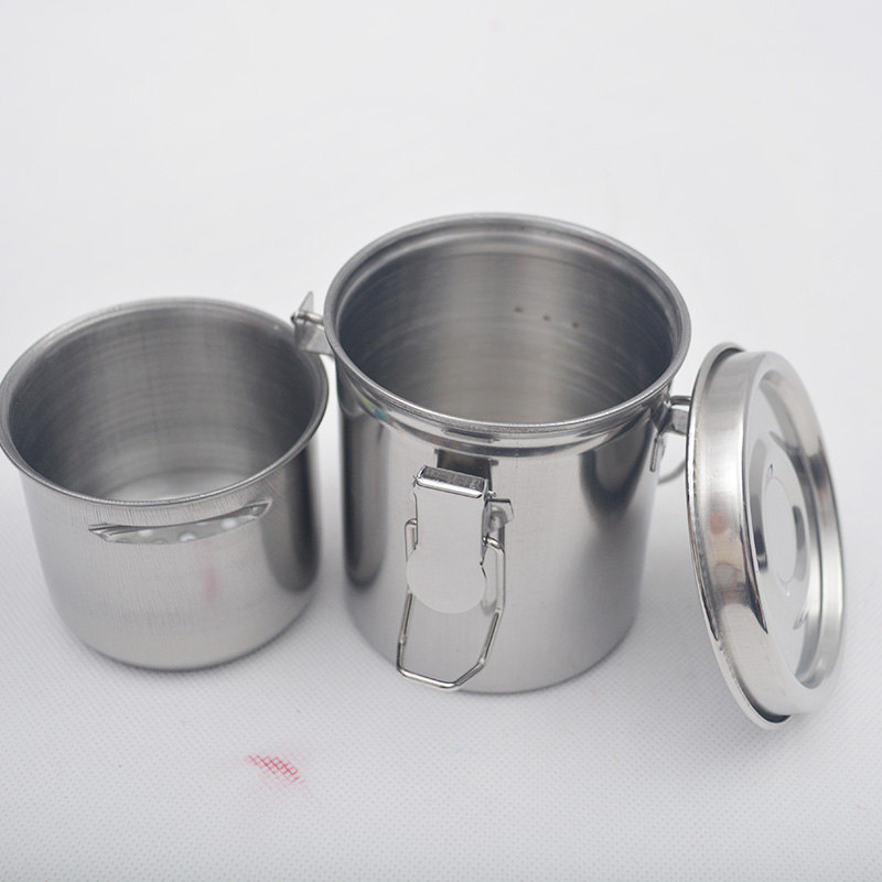 Steel Oil Painting Brush Washing Bucket Wash Pen Barrel Cup Wash Brush Pot Stainless Steel Oil Paint Brush Washer Art Supplies medical stainless steel pot oil pot