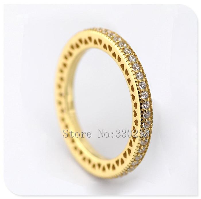 pandora oro anello