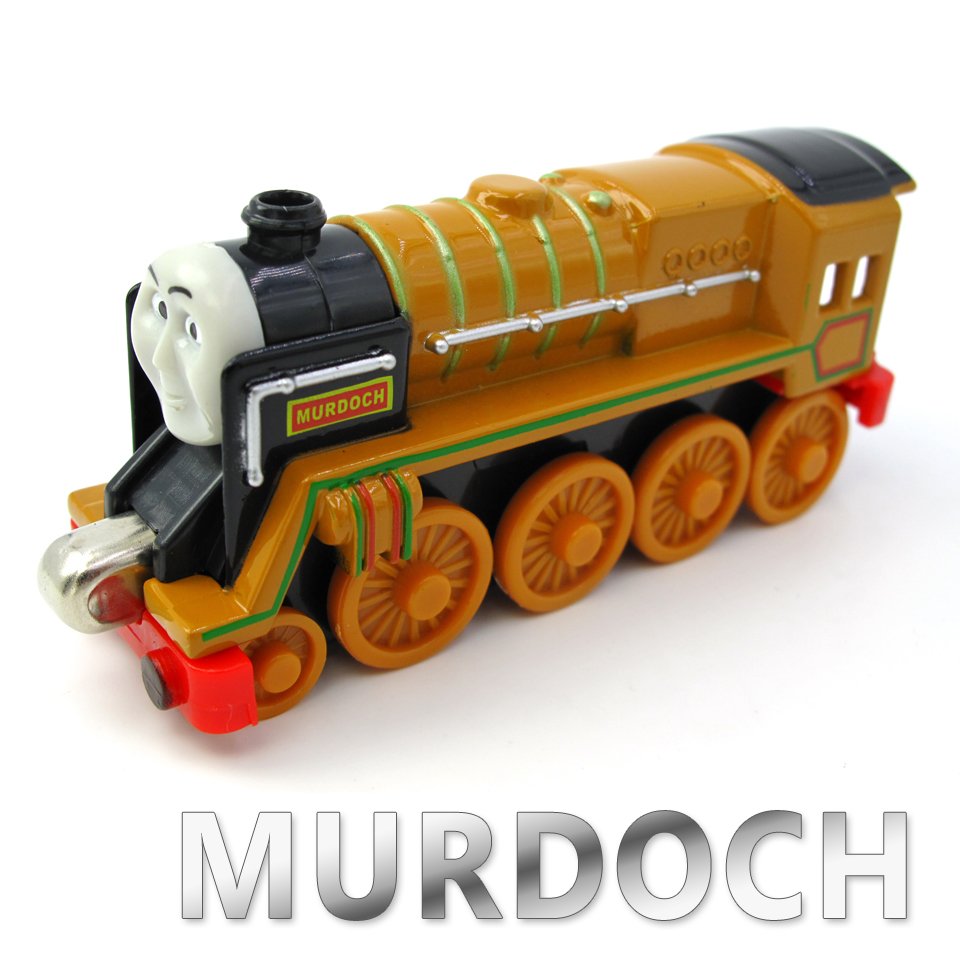 Diecasts Vehicles Thomas T094D MURDOCH Thomas And Friends Magnetic Tomas Truck Car Locomotive Engine Railway Train Toys for Boys