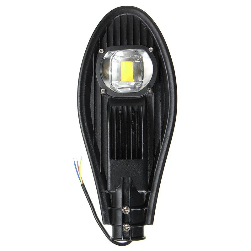 ФОТО Waterproof IP65 20W 30W LED Street Light Outdoor Lighting Road Industrial Flood Lamp Garden Yard Light Pure Warm White DC12V