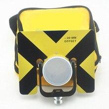 Prisma de METAL amarillo con bolsa suave para estaciones totales OFFSET -30/0MM, novedad