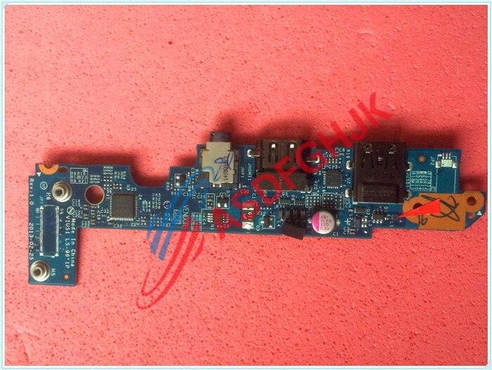 מקורי עבור Lenovo Thinkpad S431 S5 S3 לוח שמע USB HDMI VIUS1 LS-9611P rev 1.0 100% לעבוד בצורה מושלמת