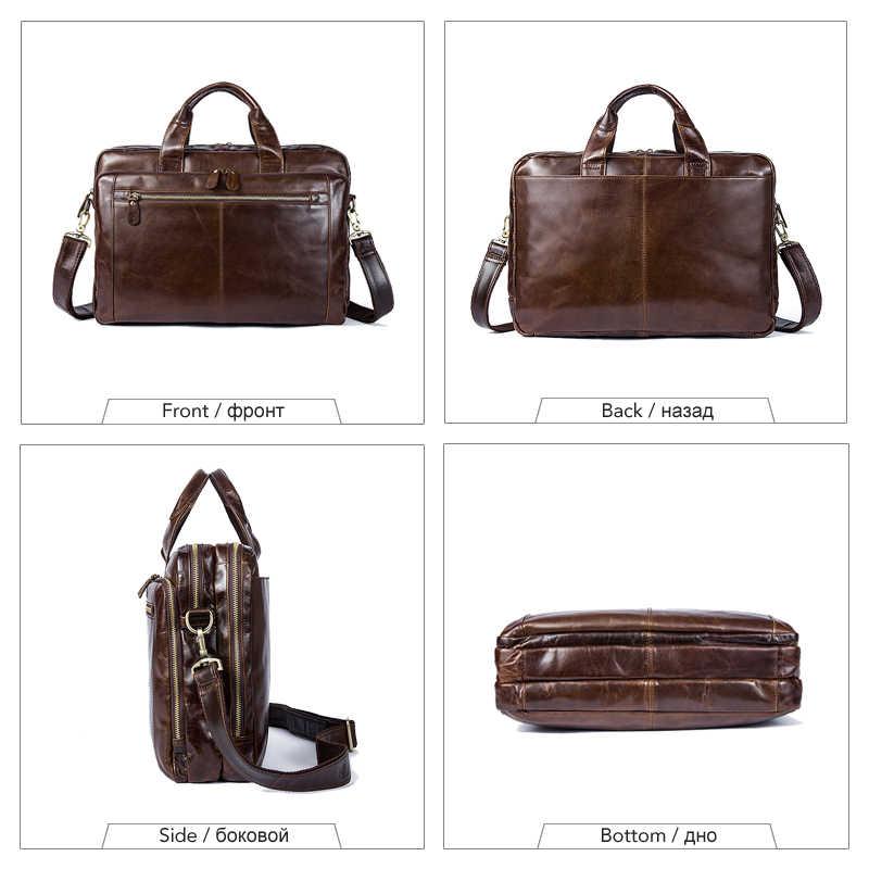 32304c86a6de ... WESTAL НОВИНКА сумка мужская натуральная кожа кожаная сумка для ноутбука  мужская сумка через плечо сумки мужские ...