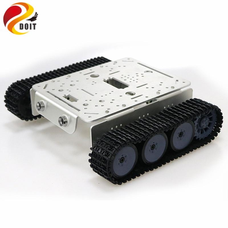 TP200 WiFi Robot réservoir châssis Robot voiture modèle contrôlé par Android Apple téléphone Mobile basé sur Nodemcu ESP8266 Kit de carte