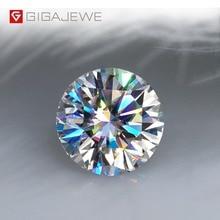 GIGAJEWE D カラー 1 3ct VVS1 モアッサルースダイヤモンドテスト合格トップ品質証明書ラボ宝石ジュエリーメイキングのために