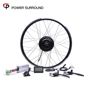 Image 1 - Rushed 48v500w Bafang Rear Cassette Electric Bike Conversion Kit Brushless Hub Motors 20 26 28diy Motor Wheel