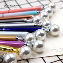 NORRATH Kawaii Cute Metal Diamond Crystal Ballpoint Pen Stationery Touch School Supplies Office Accessories