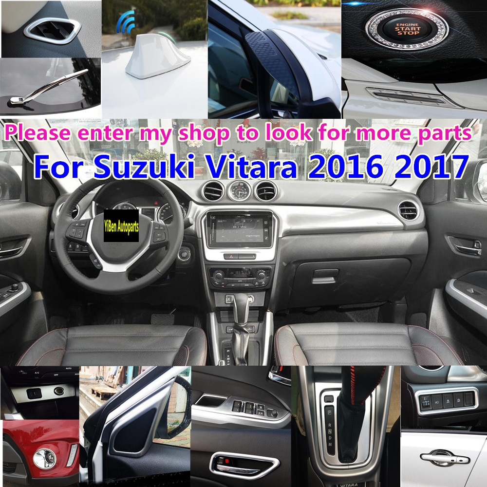 High Quality For Suzuki Vitara 2016 2017 Car Body Interior Anti Rust Water Proof Door Lock Keys Protect Buckle Cover 4pcs In Chromium Styling From