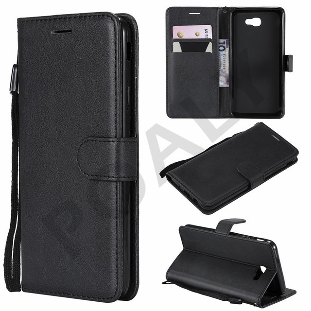 more photos f391d 9cb62 US $3.02 25% OFF|For Samsung Galaxy J7 Prime 2 Case Luxury Leather Wallet  Flip Cover For Samsung J7 Prime 2 2018 J7 Prime2 G611F G611 SM G611F-in  Flip ...