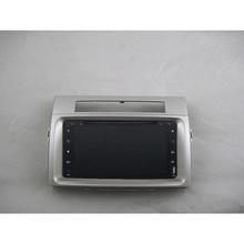 Android 9,0 радио магнитофон 8-ядерный Автомобильный мультимедийный gps навигации для Защитные чехлы для сидений, сшитые специально для Toyota corolla verso 2004-2009 DVD видео плеер+ рамка