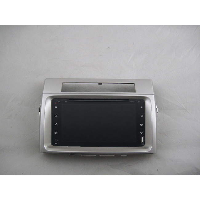 Android 9.0 radio band recorder 8-core-auto multimedia GPS Navigation fü<font><b>r</b></font> <font><b>Toyota</b></font> corolla verso 2004-2009 DVD video player + rahmen image