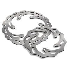 Front Rear Steel Brake Discs Rotors For KTM