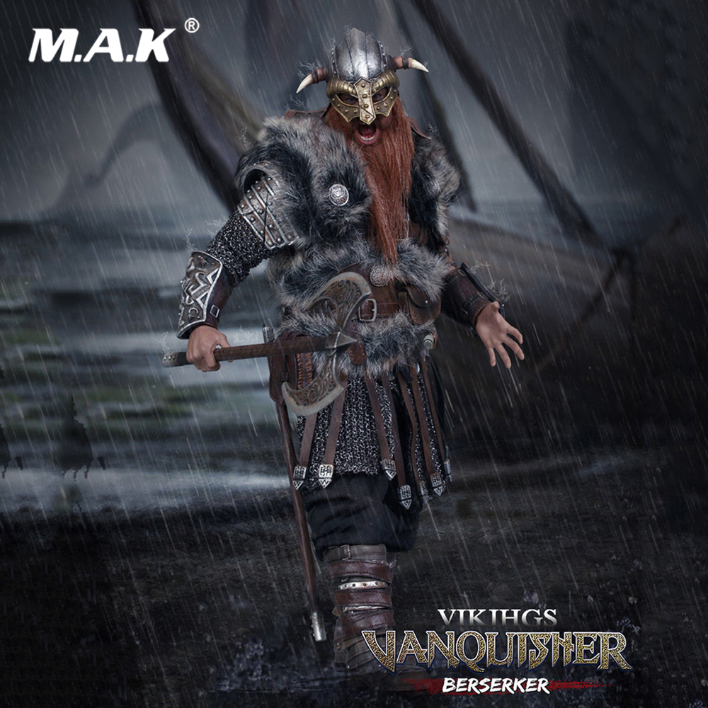1/6 Scale Full Set Figure VIKING VANQUISHER BERSERKER Conqueror Action Figure Toy NO.SE017 For Collection Gift
