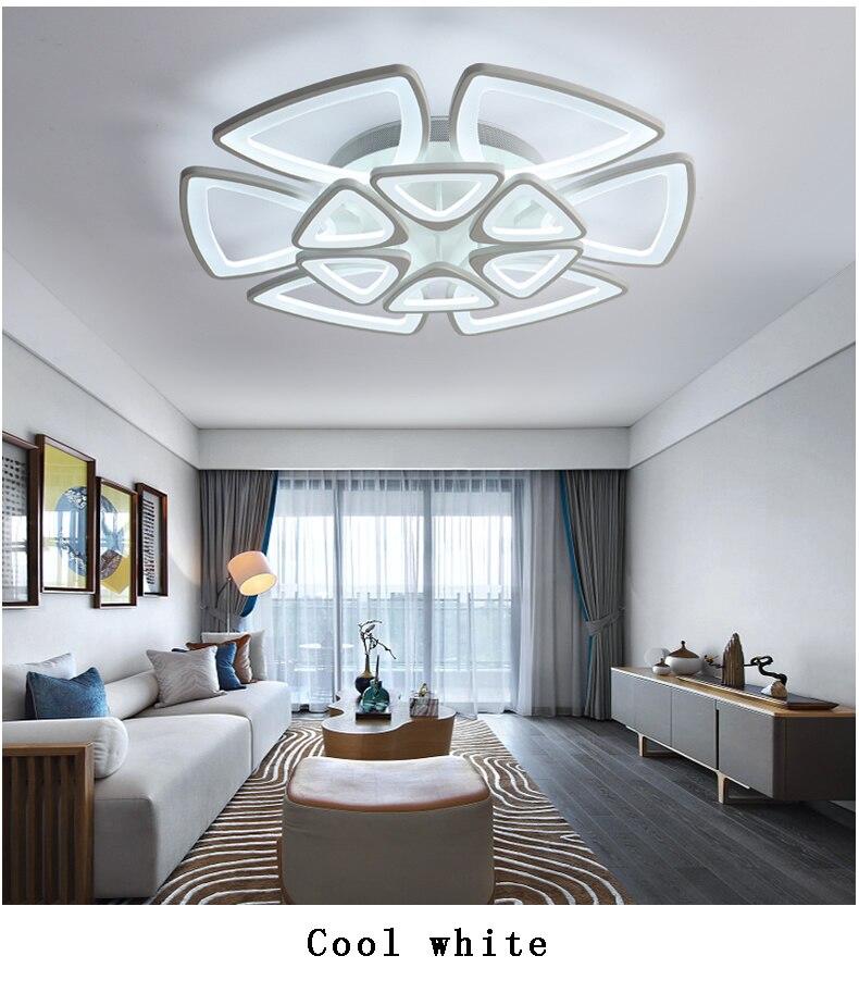 Lámpara Led moderna para sala comedor dormitorio Lampara de techo ...
