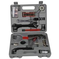SEWS 25Pcs/Set Mountainbike Patchs Outdoor Tool Fietsaccessoires Reparatie Fiets Multifunctionele Combinatie Tool/Reparatie-in Fiets Reparatie Hulpmiddelen van sport & Entertainment op