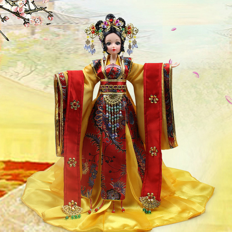 Fortune days doll East Charm Empress Wu, including clothes, stand and box 35cm east of charm 2015 bq25
