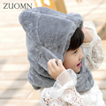 Lovely Baby Hats Girl Caps Kids Aviator Hat Bomber Winter Cap Children Masks Warm All For Children Clothing And Accessories G347